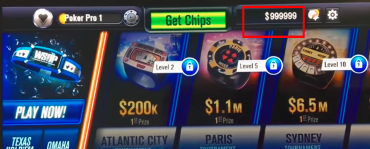 wsop free chips codes proof